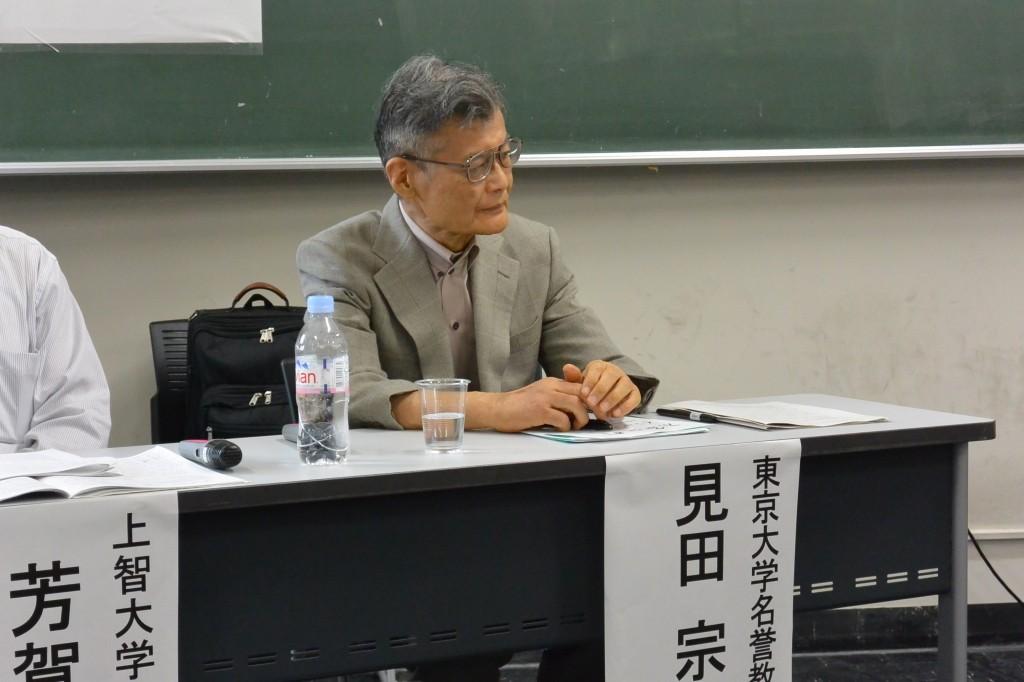 見田宗介先生