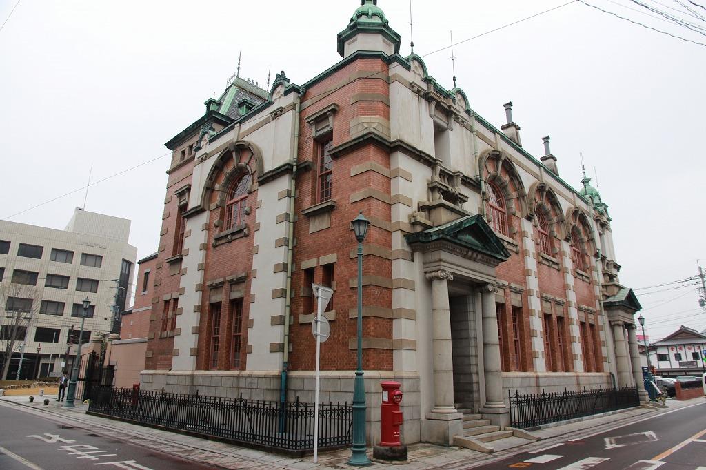 辰野金吾の旧唐津銀行