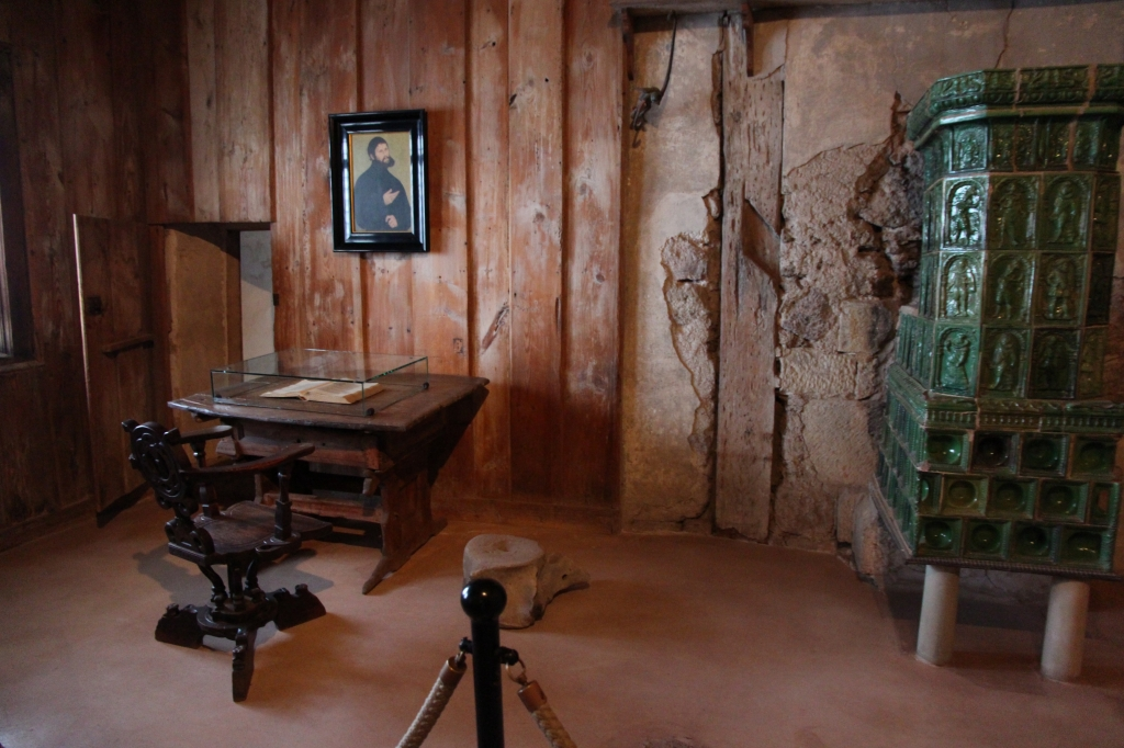 ルターの部屋、ここで聖書のドイツ語訳に取り組んだ