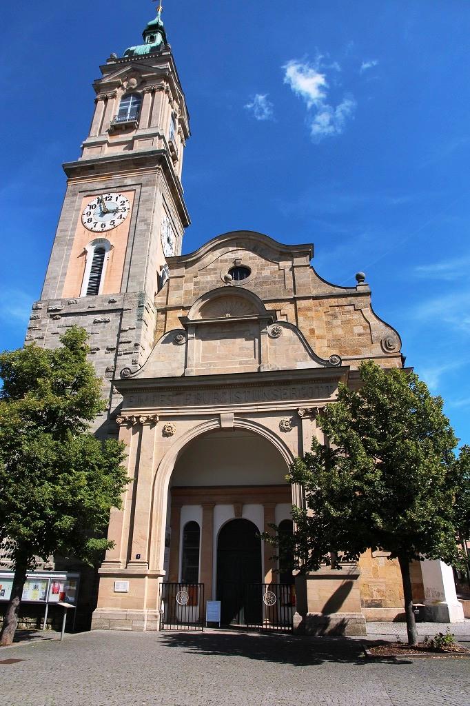 バッハ洗礼の教会