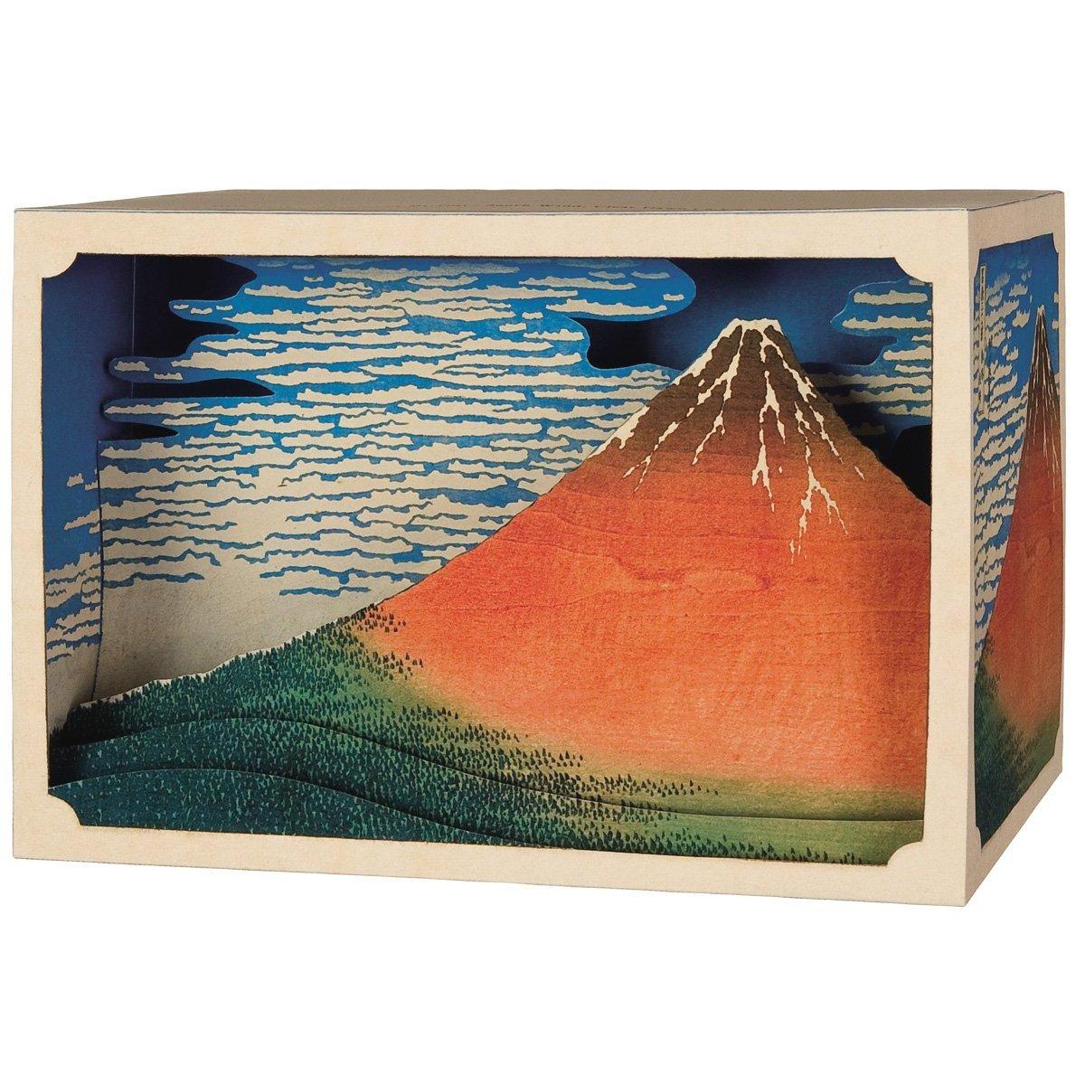 たてばんこ、赤富士
