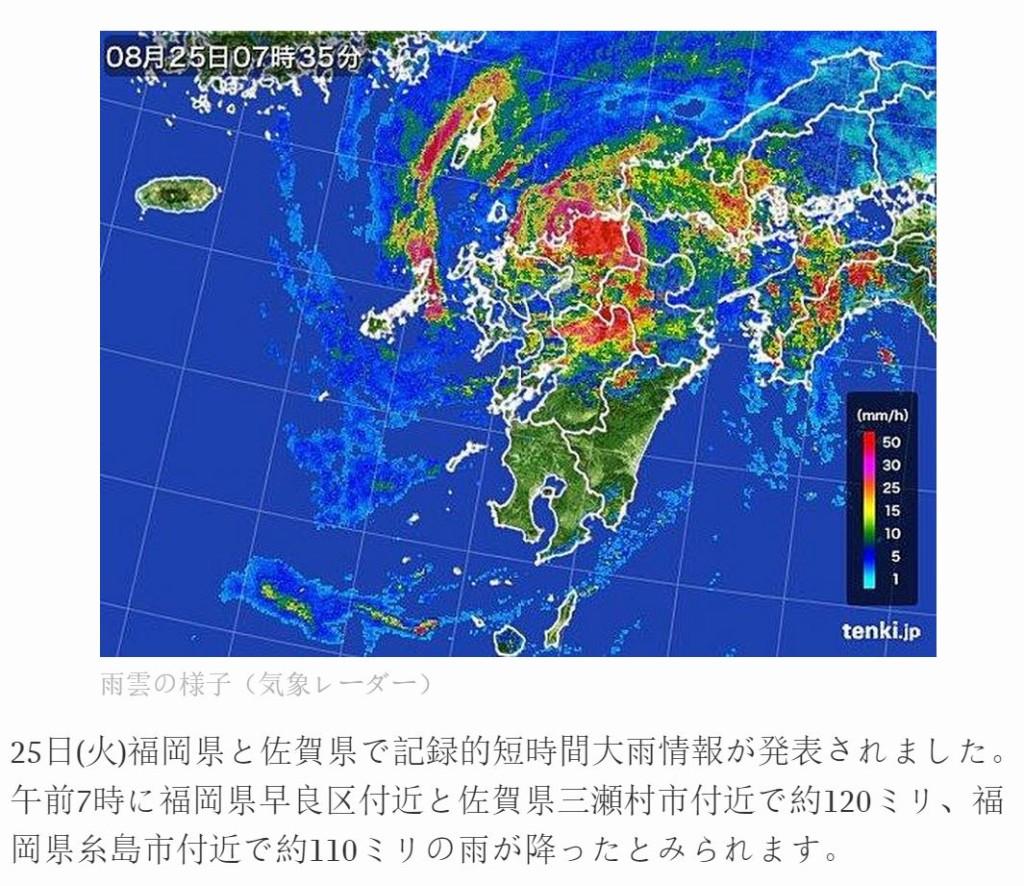 台風15号直撃