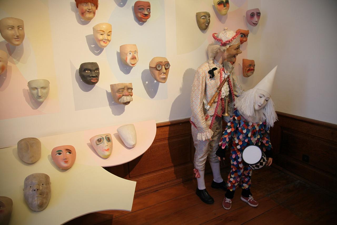 スイス、バーゼルの民俗博物館には、カーニバルの衣装がたくさん。