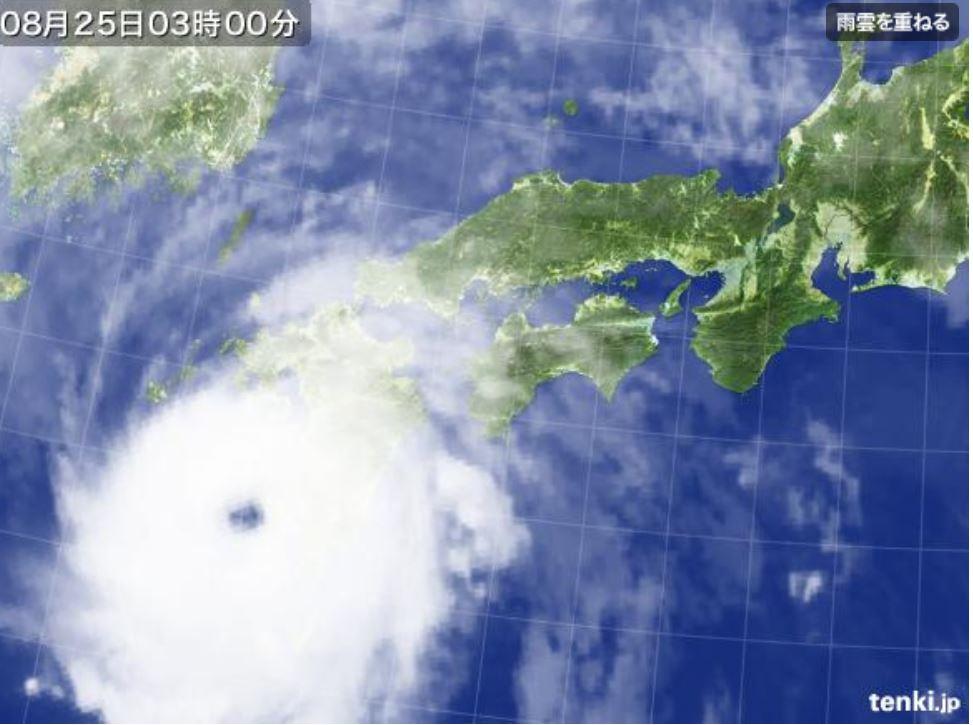 台風の目1