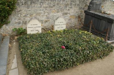 ゴッホ兄弟の墓